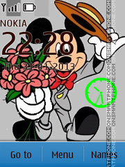 Скриншот темы Funny Mickey