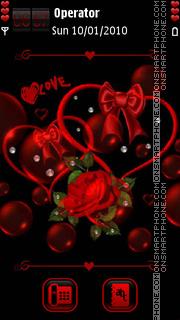 Happy Valentine's Day tema screenshot