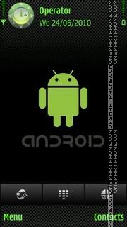 Скриншот темы Android