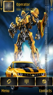 Bumblebee theme screenshot
