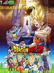 Скриншот темы Dragon Ball Z Battle of Gods