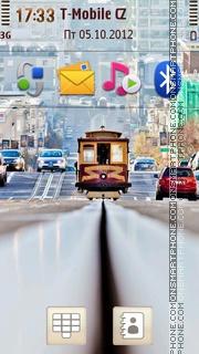 San Francisco Streets tema screenshot