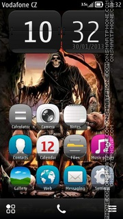 Dead Packs theme screenshot
