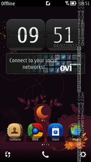 Orange HD Theme-Screenshot