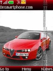 Alfa Romeo Brera theme screenshot