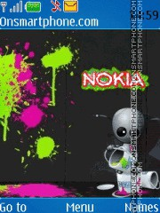 Nokia Graffiti theme screenshot