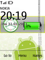 Google Battery Android theme screenshot