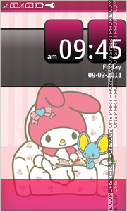 My Melody Full Touch theme screenshot
