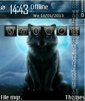 Wolf 13 theme screenshot