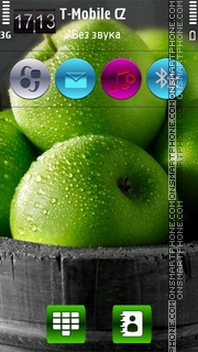 Fresh Apples HD v5 theme screenshot
