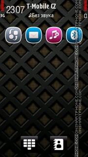 Black Cross theme screenshot