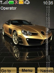 Mercedes Benz tema screenshot