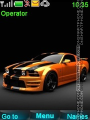 Ford Mustang GT theme screenshot