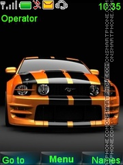 Ford Mustang tema screenshot