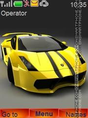 Скриншот темы Gabriel Lamborghini