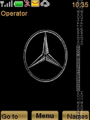 Mercedes-Benz theme screenshot