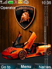Скриншот темы Automobile