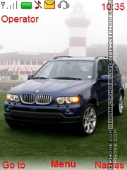 BMW X5 theme screenshot