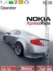 NokiaXpress tema screenshot