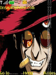 Alucard Hellsing theme screenshot