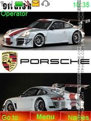 Porsche GT3 theme screenshot