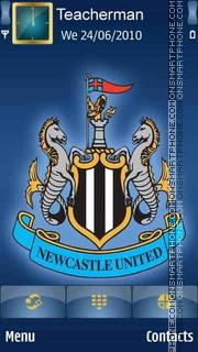 Newcastle United es el tema de pantalla