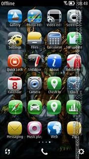 Predator theme screenshot