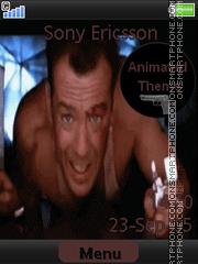 John McClane Die Hard es el tema de pantalla