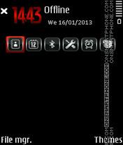 Xpress RED 02 theme screenshot