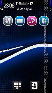 Black Blue 02 es el tema de pantalla