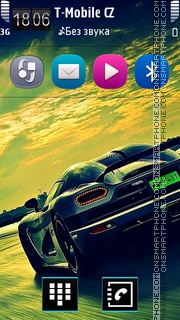 Luxury cars. Theme-Screenshot