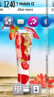 Скриншот темы Welcome Drink.