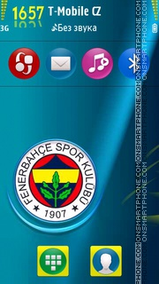 Fenerbahce v2 01 theme screenshot