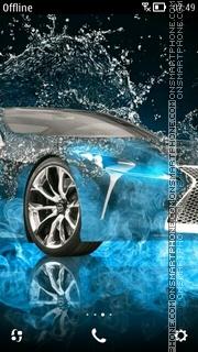 3D Car es el tema de pantalla