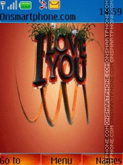 I Love You 13 tema screenshot