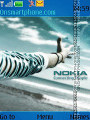 Nokia HD 02 theme screenshot