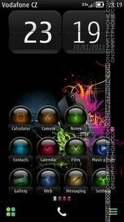 Colorful Music 02 theme screenshot