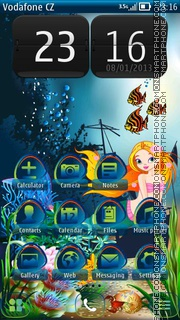 Mermaid 06 theme screenshot
