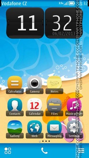 Summer Time 01 theme screenshot