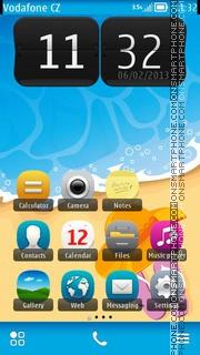 Summer Time 01 es el tema de pantalla
