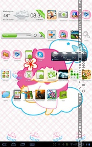 Angel 29 theme screenshot