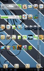 Elegant HD tema screenshot