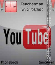 YouTube Logo theme screenshot