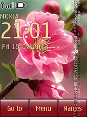 Spring theme screenshot