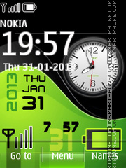 Green Htc All in One theme screenshot