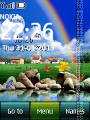 Rainbow Digital theme screenshot