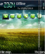 Mirage 02 theme screenshot