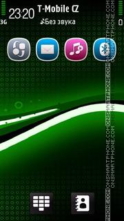 Black Green 02 es el tema de pantalla