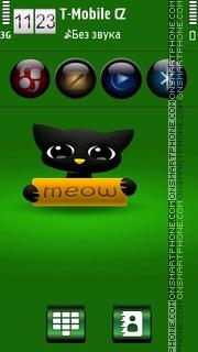 Cute Cat HD v5 theme screenshot