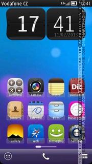 iBelle 01 es el tema de pantalla